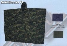 Poncho impermeable nylon airsoft