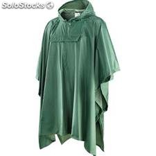 Poncho in nylon spalmato internamente in PVC
