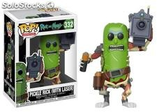 Pop! Rick And Morty - Pickle Rick (With Laser)