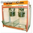 Popcorn machine - mod. doppio - n. 2 pans, can also be used individually -