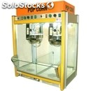Popcorn machine - mod. jolly doppio - n. 2 pans, can also be used individually -