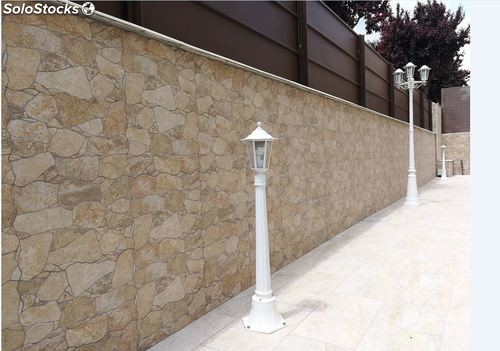 Porcelanico revestimiento pared suelo cantera natural 48x32 1a for Revestimiento pared madera blanca