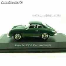 Porsche 356a carrera coupe (vitrina) 1/43 high speed coche escala