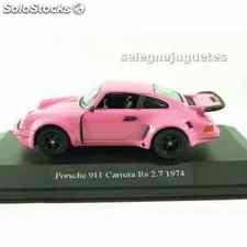 Porsche 911 carrera rs 2.7 1974 (vitrina) escala 1/43 high speed