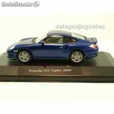 Porsche 911 turbo 2000 (vitrina) 1/43 high speed coche escala