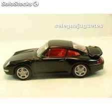 Porsche 911 turbo coupe 1995 escala 1/43 high speed coche miniatura