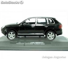 Porsche cayenne turbo 2002 (vitrtina) 1/43 high speed