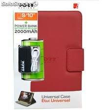 "Port Designs - 500281 10"""" Folio Rojo funda para tablet"