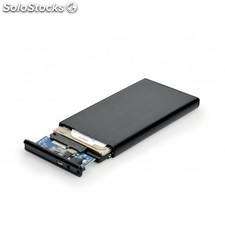 "Port Designs - 900030 SSD enclosure 2.5"""" Negro recinto de almacenaje"