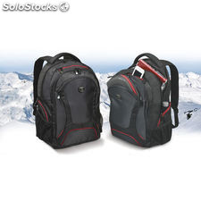 Port designs mochila courchevel 15,6'' 36x50x22 cm negro/rojo + raincover 160510