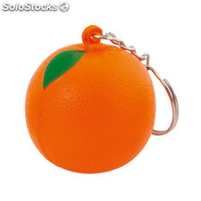 Porta-chaves anti-stress. Orange