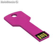 Porta-Chaves Fixing 4GB Fucsia S/T