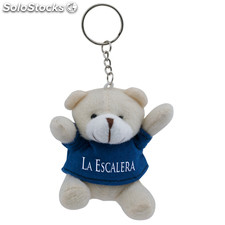 Porta-chaves peluche. Blue