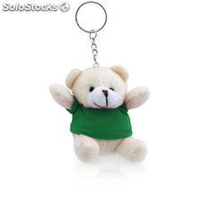 Porta-chaves peluche. Green