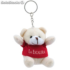 Porta-chaves peluche. Red