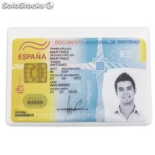 Porta tarjetas simple bl