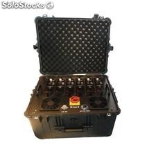 Portable Multi Band High Power vhf uhf Jammer for Military and vip Vehicle Convo