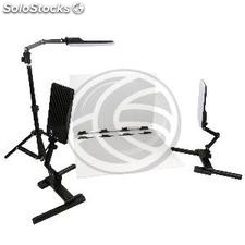 Portable Photo Studio with 3 panel 548x405mm LED-18W (EV98)