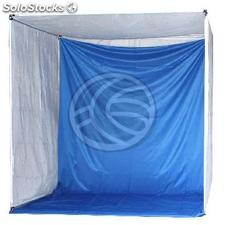 Portable Photo Studio with blue chroma 200x200x200cm (EH24)