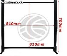 Portable Projection Screen 4:3 DisplayMATIC table 810x610mm (OT71)