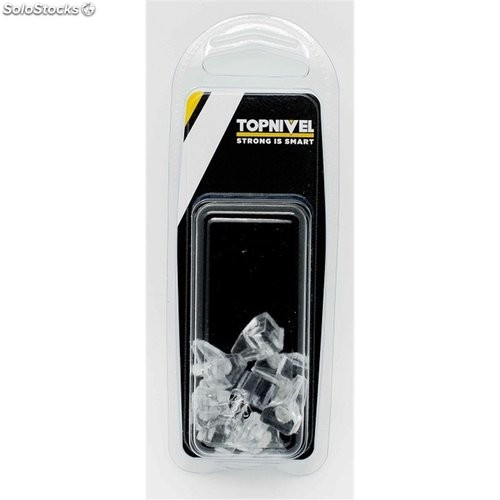 Portaestante Safety 5Mm Transparente 8Pzs