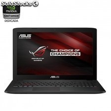 Portatil ASUS gl552vw-dm149 -i5-6300hq 2.3ghz - 4gb - 1tb - geforce gtx960m