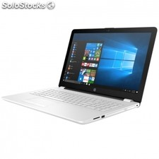 "Portátil hp 15-BS010NS - I3-6006U 2.0GHZ - 4GB - 125GB ssd - 15.6""/39.6CM hd -"