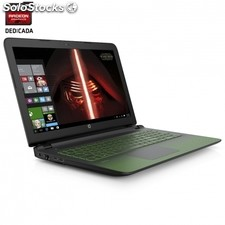 Portátil hp 17-AK001NS - quad core A10-9620P 2.5GHZ - 8GB - 1TB - radeon 530 2GB