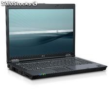 Portatil hp Compaq 8510p Core 2 Duo 2400 Mhz com 4096 Mb Ram e 160 Gb hdd, Combo