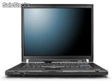 Portatil ibm ThinkPad t60 Core Solo 1600 Mhz com 1024 Mb Ram e 40 Gb hdd, Combo