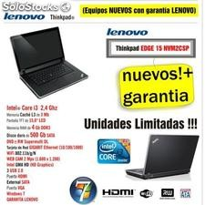 Portatil Lenovo Intel Core i3, TFT Led, 500Gb, 4Gb DD3 Windows 7 a 1/2 PvP