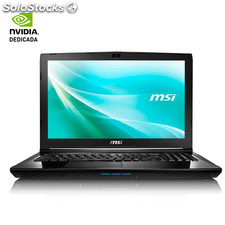 Portatil msi CX62-047XES - I7-7500U