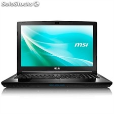 "Portátil msi CX62 241XES Intel Core i7-6700HQ 8GB 1TB FreeDos 15.6"" negro"