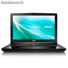 "Portátil msi CX62-288XES Intel Core i5-4210H 8GB 1TB FreeDOS 15.6"" negro"