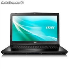 "Portátil msi CX72 080XES Intel Core i7-6700HQ 3.5GHz 8GB 1TB FreeDos 17.3"" negro"