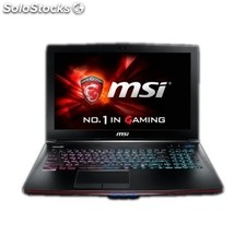 Portátil msi GE62 2QE apache Intel Core i7-4720 8GB 128GB ssd 1TB Windows 8.1