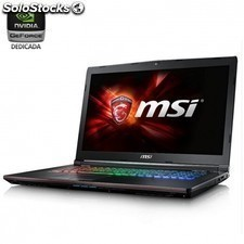 Portatil msi ge72 6qd-098xes - i7-6700hq 2.6ghz - 16gb - 1tb+128gb ssd -
