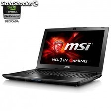 Portatil msi gl62 6qd-014xes - i5-6300hq 2.3ghz - 8gb - 1tb - geforce gtx950m