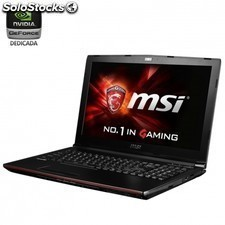 Portatil msi gp72 2qe-073xes leopard pro - i7-5700hq 2.7ghz - 16gb - 1tb -