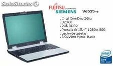 Portátiles Fujitsu Siemens Nuevos Intel Corel Duo 2Ghz, 320Gb,Windows Vista...