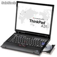 Portátiles IBM Thinkpad T-30 Intel Pentium IV Mobile a 2.0Ghz, DVD, Wifi