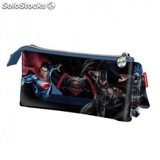 Portatodo Batman Vs Superman Triple 22x12x7cm.