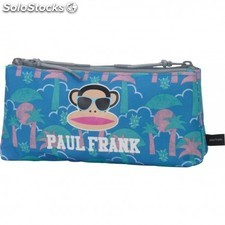 Portatodo Doble Paul Frank 10x21x6 cm.