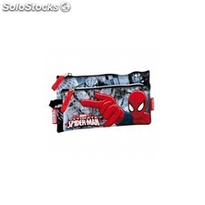 Portatodo Spiderman Doble 22x12x2.5 cm