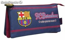 Portatodo triple bordado fc barcelona