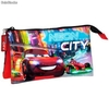 Portatodo Triple Disney Cars Neon""""