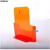 Porte Brochures acrylique orange translucide a4 vertical - Photo 2