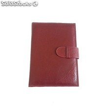 Porte-documents en cuir marron - MyProGift.com - 104402