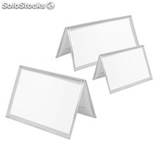 Porte-menus 7,4x10,5 cm transparent ps