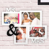 Porte-photos Multiple Mr & Mrs